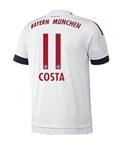 FC Bayern Away Trikot Herren 2016 - COSTA 11, Größe:2XL