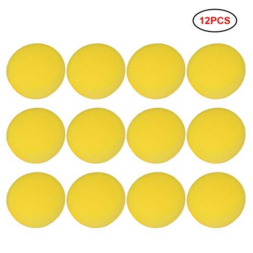 Knowooh 12 Stücke Synthetische Schwämme runde für die Wischtechnik und zum Aufstupfen von Farbe