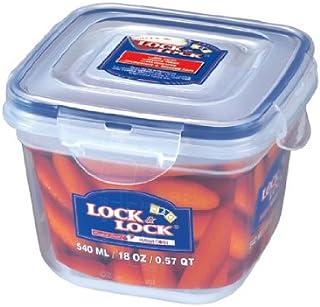 حافظة طعام مربعة زن ستايل من لوك اند لوك، 540 مل HSM8220
