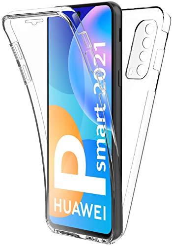 AURSTORE - Funda para Huawei P Smart 2021 5G (6,67 pulgadas), protección integral delantera + trasera, rígida, táctil, protección de 360 grados, resistente a los impactos