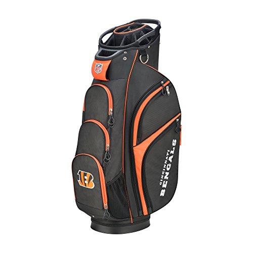 Wilson NFL Bengals Golf Cart Bag