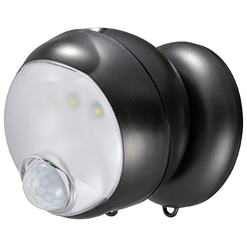 オーム電機 センサーライト LS-BH11SH4-K