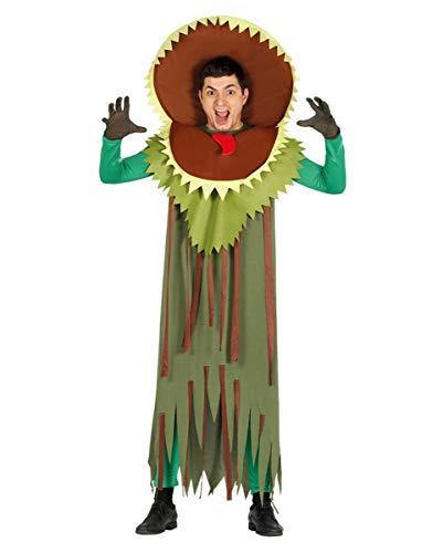 Horror-Shop Fleischfressende Pflanze Kostüm für Herren als lustige Karnevalsverkleidung One Size
