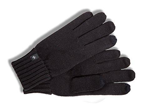 Roeckl Herren Handschuhe Polyacryl schwarz Gr. S