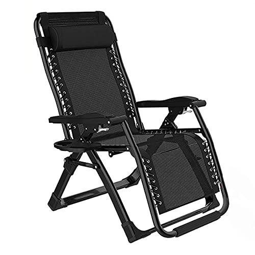 Silla, jardín al aire libre ocio tumbona, silla plegable ajustable, adecuado para la playa/terraza/yarda/dormitorio/sala de estar para uso al aire libre