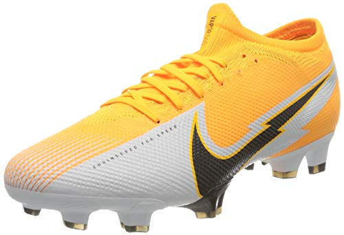 Nike Unisex Adults Vapor 13 Pro FG Football Shoe, Laser Orange/Black-White-Laser Orange, 4 UK