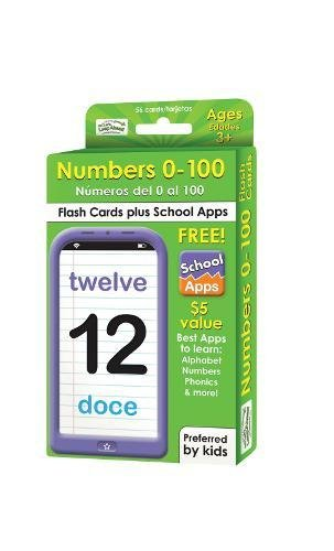 Numbers 0 100 Flash Cards