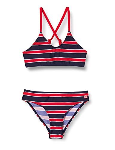 Schiesser Mädchen Bustier Bikini-Set, rot, 152