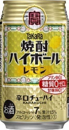 宝 チューハイ 焼酎ハイボール レモン 350ml 24本 1ケース