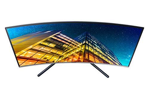 Samsung U32R594CWU computer monitor 80 cm (31.5 inches) 4K Ultra HD LCD Curved Grey - computer screens (31.5 inches), 3840 x 2160 pixels, 4K Ultra HD, LCD, 4 ms, grey)
