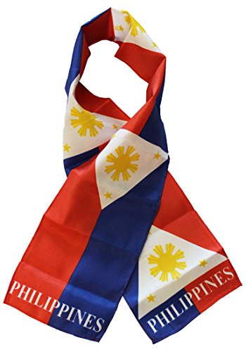 Philippines - Lightweight Polyester Flag Scarf