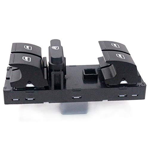 1k4959857b El interruptor de la ventana del maestro de energía eléctrica se ajusta al ajuste del asiento para VW Tiguan Fit para Jetta Fit for Golf Mk5 MK6 G-Ti Cojín de conejo para Passat B6 B7 3C