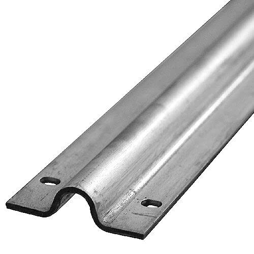 Bodenlaufschiene für Schiebetore verzinkt zum Aufschrauben | Laufschiene 3m | Nut 20mm | Schiene Rolltor Schiebetor