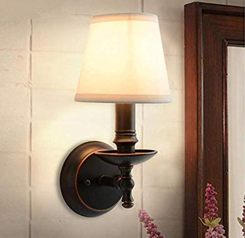 Kronleuchter Lightvintage Chandelierlamp Schlafzimmer Nachttischlampe, Wohnzimmer Hintergrund Schmiedeeisen Abdeckung Ausgezeichnete Dekoration