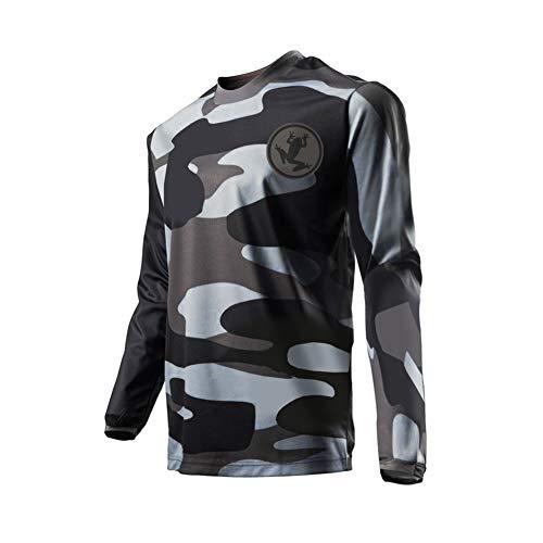 Uglyfrog+ Neu Langarm Ärmel Jersey Radsport Moto Mountain Bike Downhill Motorräder Shirt Herren Sportbekleidung Kleidung