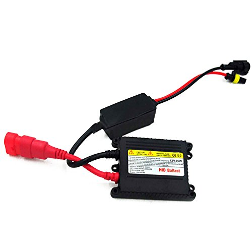 Vococal® Voiture Phare 35W HID Ballast Slim pour H1 H3 H4 H6 H7 H8 H9 H10 H11 H13 9004 9005 9006 9007 Lampe Xénon
