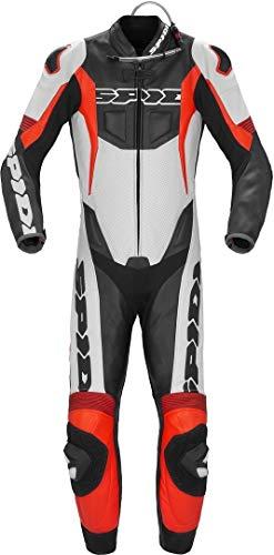 Spidi Sport Warrior Pro - Traje de piel para moto (1 pieza, perforado)