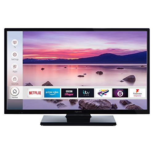 """32HDSMDVDLED 32"""" HD Ready Smart TV with DVD Player"""