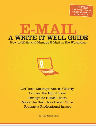 E-Mail: A Write It Well Guide (Write It Well Series on Business Communication) (English Edition)