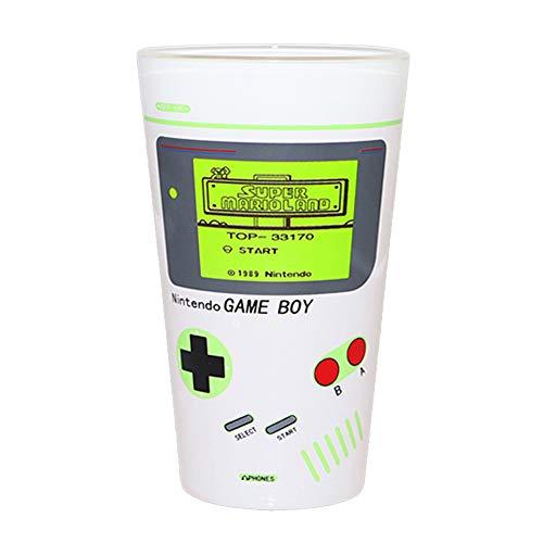 AOZIKA Eiskaffee-Becher,Eisbierbecher,Keramik Kaltempfindliche Farbe ändernde Tasse, Game Boy Muster.Wenn Sie Eisflüssigkeiten Hinzufügen, Wird der Super Mario-Bildschirm Angezeigt.