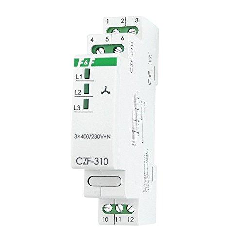 Netzüberwachungsrelais mit Feste Schwelle der Spannungsasymetrie Netzüberwachung Überwachungsrelais Relais CZF-310 F&F 3126
