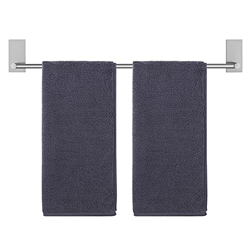 KES Towel Bar for Bathroom 24-Inch Self Adhesive Towel Bar No Drill Sticky on Towel Holder SUS304 Stainless Steel Rustproof Brushed Finish, A7000S60B-2