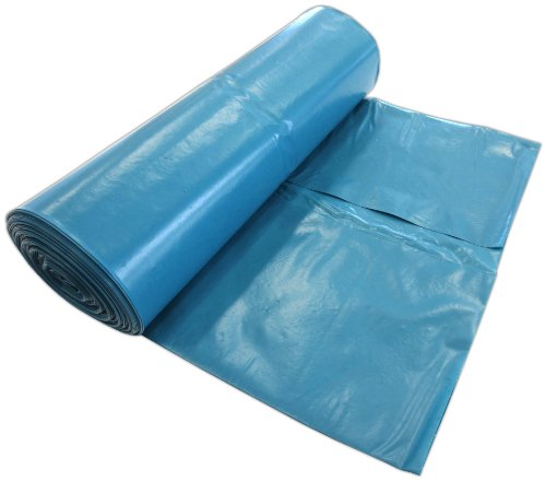 250 Müllsäcke 10 Rollen 120 Liter 70x110cm Blau extra stark Typ 85 ca. 85µ stark Abfallsäcke Müllbeutel Laubsäcke