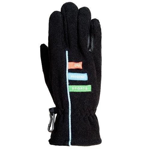 Roeckl sports ROECKL Kinder Handschuhe KOYO Microfleece, schwarz, 4