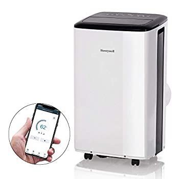 Honeywell Smart WiFi Portable Air Conditioner & Dehumidifier with Alexa Voice Control Cools Rooms Up to 450 Sq Ft Includes Drain Pan & Insulation Tape HF0CESVWK6