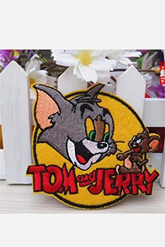 RG20 Tom und Jerry Patch Aufnäher Bügelbild Cartoon Comics Zeichentrick