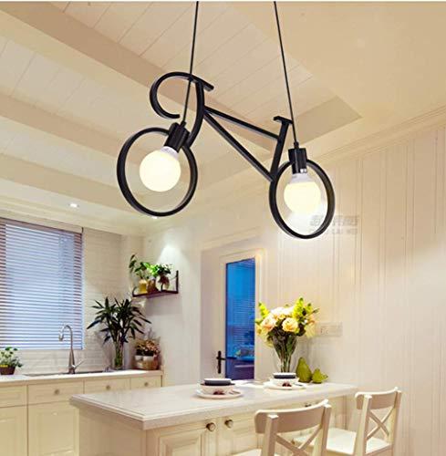 Colgante de luz Vintage Lámparas Para Bicicletas Creativas Lámpara de Techo Ajustable Edison Clásico Accesorio de Luz