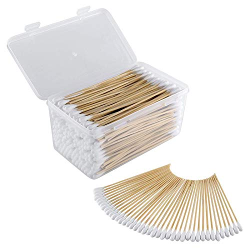 Purchase BOOSTEADY .22 .223 Caliber 5.56 MM 6 Inch Cotton Gun Cleaning Swabs in Storage Case
