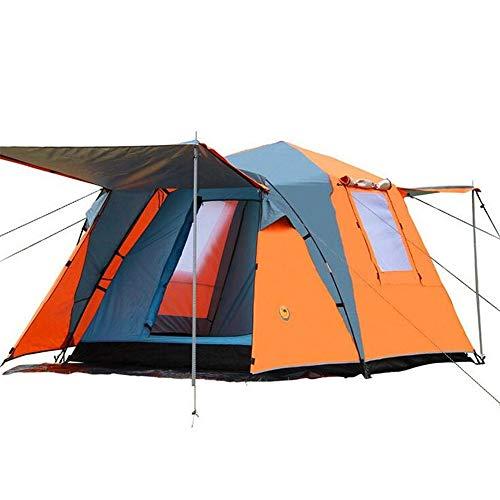 Automatische Double-Decker Tent, Outdoor 3-4 Personen Camping Tent