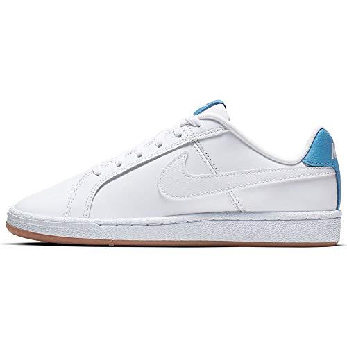 Nike Court Royale (GS), Scarpe da Tennis Uomo, Multicolore (White/White/University Blue 000), 39 EU