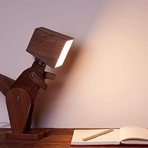 SKAFA Wooden Study Lamp