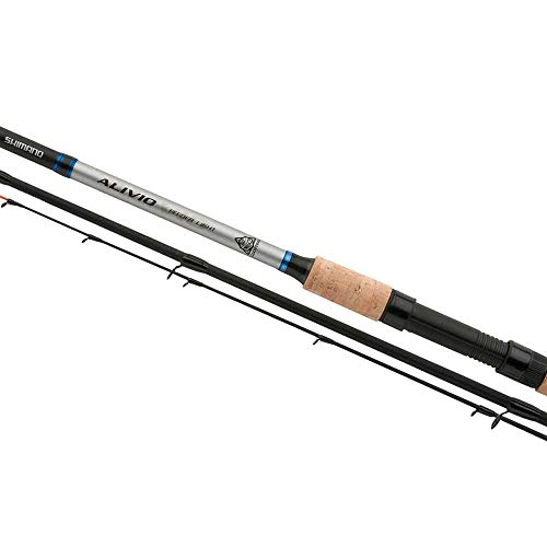 SHIMANO Alivio CX Feeder 3.66 m 100 g Cañas de Pescar Feeder Fishing Rio Telescópica