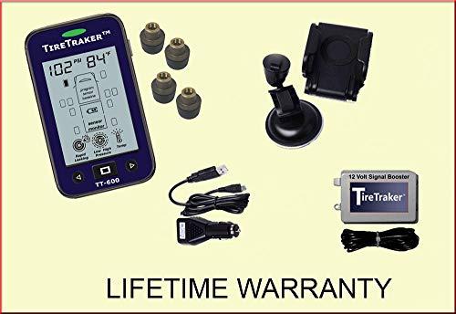TireTraker TT-600/6 Wheel Tire Monitoring System with