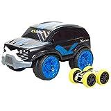 SilverLit 20210 Exost Fury Cross Radio Control Car and Mini Flip, Multi Colour, 29cm