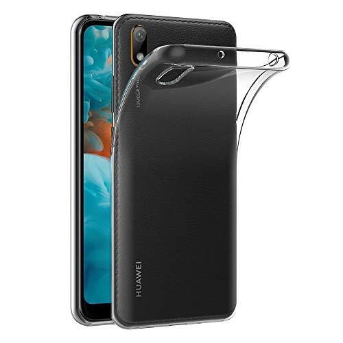 AICEK Cover Huawei Y5 2019, Cover Y5 2019 Silicone Case Molle di TPU Trasparente Sottile Custodia per Huawei Y5 2019 (5.71 Pollici)