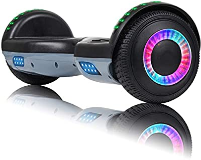 """VEVELINE Hoverboard for Kids 6.5"""" Two-Wheel Self Balancing Hoverboard with Bluetooth Speaker"""