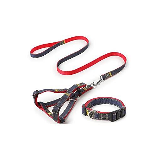 CZFSKCZ Correa Perro, Adecuado para una Cuerda Grande, Media y pequeña de tracción de Perros, Duradera, Ajustable, cómoda y Transpirable.