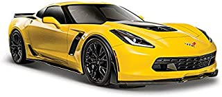 Maisto 31133YL 2015 Chevrolet Corvette C7 Z06 1/24, Yellow