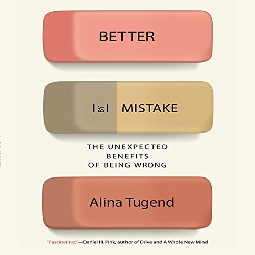 Better by Mistake audiobook cover art