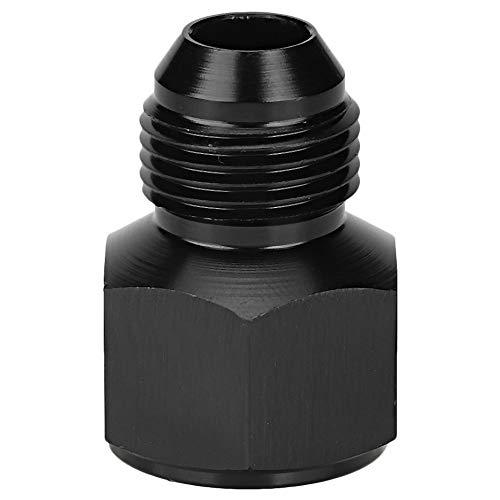 Bestlymood Neue Schwarze 10An-Buchse auf 8An Stecker Reduzier Schlauch Verbindung StüCke Aluminium An10 auf An8 Reduzierer Heiz ?L Leitung