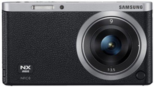 Samsung NX Mini Smart Systemkamera (20 Megapixel, 7,5 cm (2,9 Zoll) Display, Full HD Video, bildstabilisiert, inkl. 9mm Objektiv) schwarz