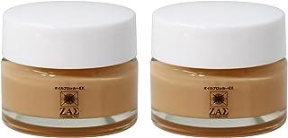 ザス ZAS 皮脂吸収クリーム:オイルブロッカーEX テカリ防止 皮脂 汗 ブロック 毛穴 小じわ ニキビ跡 もカバー 化粧下地 UVカット メンズメイク メンズコスメ お得な2個セット
