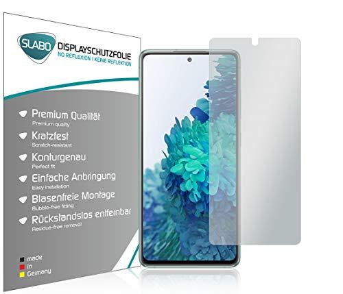 Slabo 4 x Displayschutzfolie für Samsung Galaxy S20 FE (5G   LTE) Displayfolie Schutzfolie Folie Zubehör No Reflexion MATT