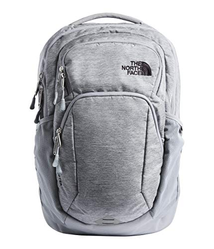 The North Face Pivoter Backpack Mid Grey Dark Heather/TNF Black One Size