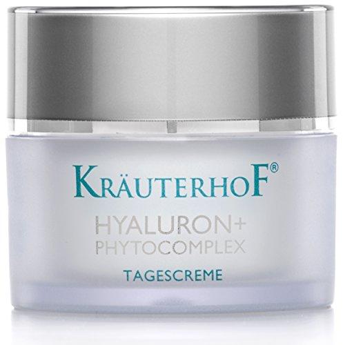 Tagescreme Kräuterhof 50ml Gesichtspflege Frauen Männer Hyaluronsäure Made in Germany Testurteil...