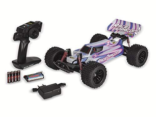 Carson 1:10 Race Dragon FE 2.4G 100% RTR, Ferngesteuertes Auto, RC Fahrzeug, inkl. Batterien und Fernsteuerung, Geschwindigkeit bis zu 35 km/h, 500404140